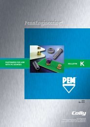 FASTeNeRS FOR USe WITH PC BOARDS BULLeTIN - Colly ...