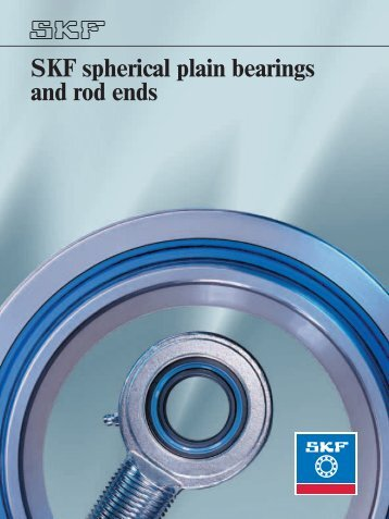 SKF spherical plain bearings and rod ends - Alas-Kuul AS