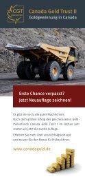 Canada Gold Trust II GmbH & Co