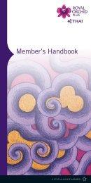 Hand Book ROP Eng new2.indd - Thai Airways