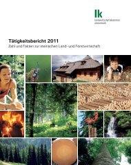 Tätigkeitsbericht 2011 - Landeskammer für Land- und ...