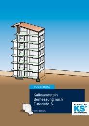 Kalksandstein Bemessung nach Eurocode 6. - KS* Original