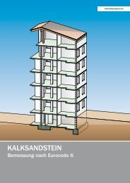 Themenheft Kalksandstein – Bemessung nach Eurocode 6