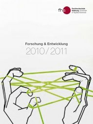 Forschungsbericht 2010/11 - Fachhochschule Salzburg