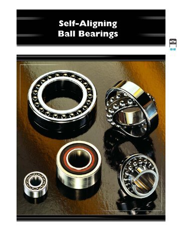 Self-Aligning Ball Bearings - CONSOLIDATED BEARINGS ...