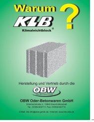 klb - OBW GmbH
