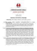 comunicazioni orali - NL Congressi - Page 5