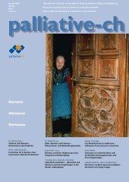 Schmerz und Demenz - Palliative ch