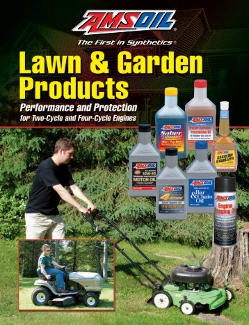 G1056 - AMSOIL Lawn and Garden Products Brochure