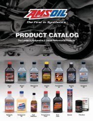 G290 - AMSOIL Products Catalog - Amsoil Performance - Home