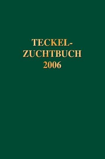 Teckel-Zuchtbuch 2006 - Landesverband Sachsen-Anhalt im DTK ...