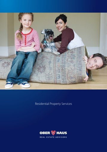 Residential Property Services - Ober-Haus Real Estate