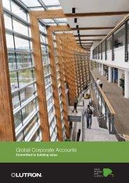 Global Corporate Accounts - Lutron