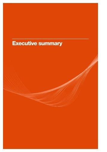 Executive summary - ACMA