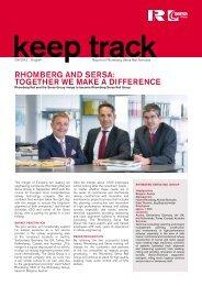 Rhomberg Rail Newsletter - Rhomberg Bau GmbH