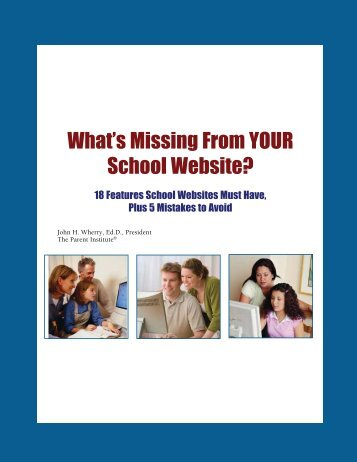 What is Missing from Your Website? - New York State PIRC ...