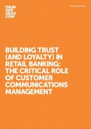 Building trust (and loyalty) in retail Banking - CIO Summits by CDM ...