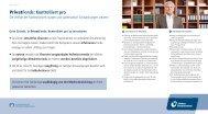 PrivatFonds: Kontrolliert pro - PSD Bank Westfalen-Lippe eG