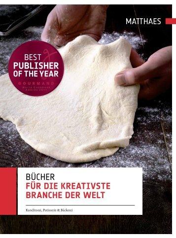 Bücher für die kreativste branche der welt - Matthaes Verlag GmbH