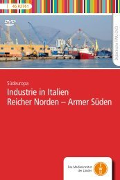 Industrie in Italien Reicher Norden
