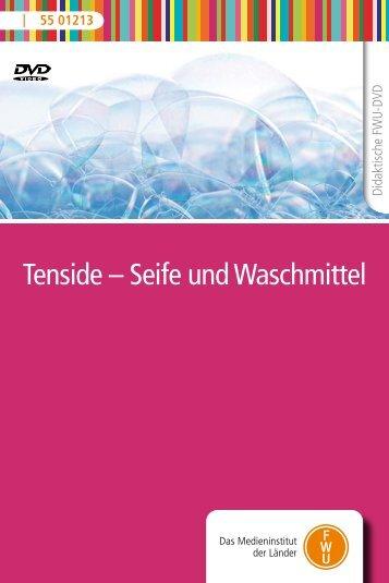 Tenside – Seife und Waschmittel - FWU