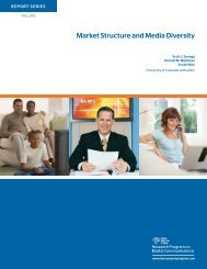 Market Structure and Media Diversity - Research Program on Digital ...