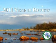 2011 year in review 2011 year in review - The Michigan Nature ...