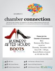 November 2012 Chamber Connection - Devils Lake ND Chamber of ...