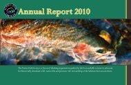 Annual Report 2010 - Native Fish Society