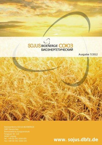 Newsletter SOJUS 06.2012 - SOJUS Bioenergie Netzwerk ...