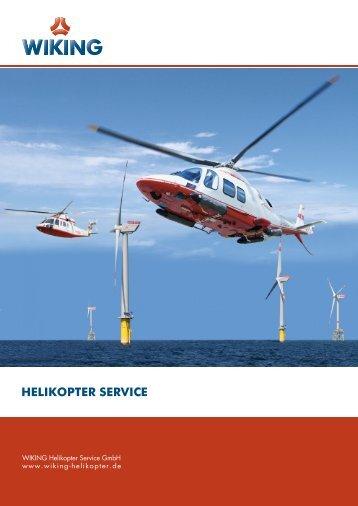 Unternehmensbroschüre - WIKING Helikopter Service GmbH