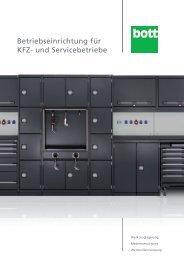 Betriebseinrichtung für KFZ- und Servicebetriebe - Bott GmbH
