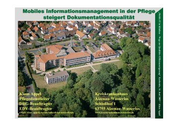 Mobiles Informationsmanagement in der Pflege steigert ... - FZI