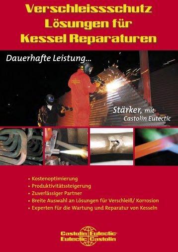 Boiler coating_Flyer_German.indd - Castolin Eutectic