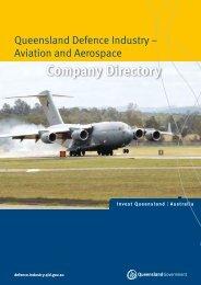 Aviation And Aerospace - Industry development - Queensland ...