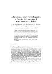 A Semantic Approach for the Inspection of Complex ... - FZI