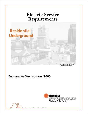 2 0 mechanical for What is the standard electrical service for residential