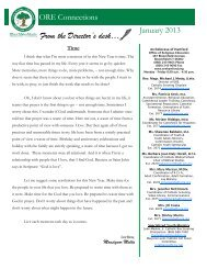 ADH-ORE Connections Newsletter 01-2013 - St. Joseph Religious ...