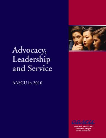 Advocacy, Leadership and Service - American Association of State ...