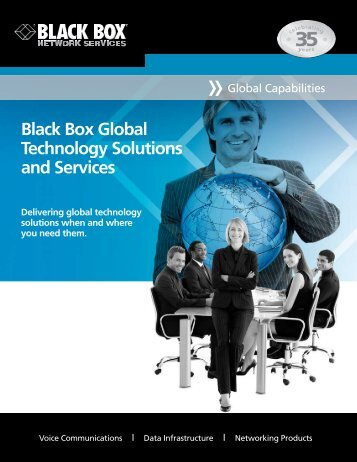 Black Box Global Technology Solutions and Services - Delivering