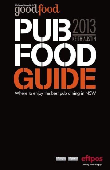 The Sydney Morning Herald 2013 Pub Food Guide - AHA NSW