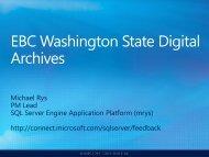 - Washington State Digital Archives
