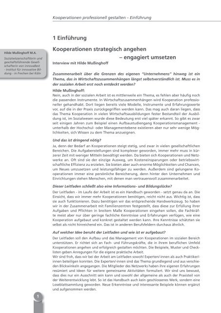 Kooperationen - Kooperationsmanagement