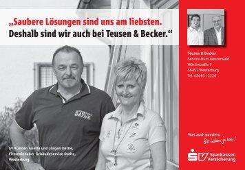 Teusen & Becker Service-Büro Westerwald ... - Benjamin Becker