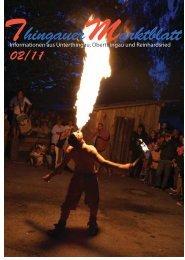 Ausgabe 02/2011 - Markt Unterthingau