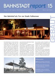 Ausgabe Nr.15, April 2012 - Agentur BahnStadt