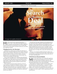 In Search of a Better Deal - Real Estate Center - Texas A&M University
