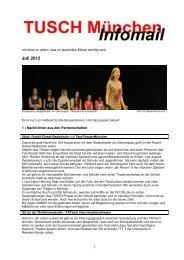 InfoMail_Juli_ 2012 - TUSCH aktuell