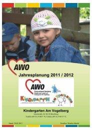 Jahresplanung 2011 / 2012 - AWO Bamberg
