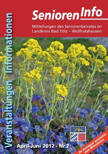 Senioren-Info Nr. 2/2012 - Stadt Wolfratshausen